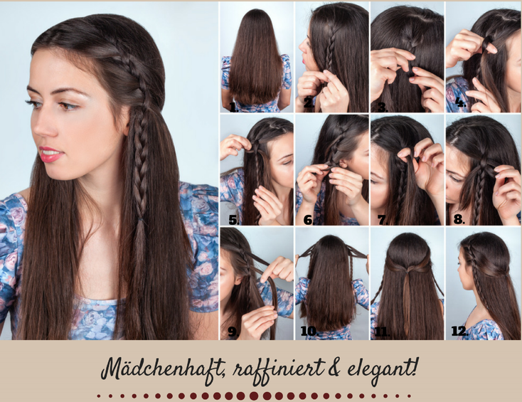 DAS COOLE HALB HOCH HAIR TUTORIAL