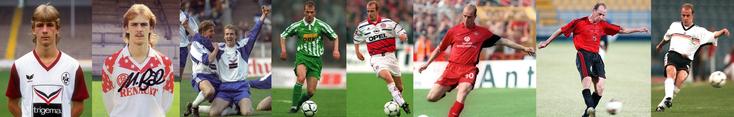 Kaiserslautern - Rot Weis Essen - Hertha Berlin - Werder Brême - FC Bayern - Al-Rayyan- Allemagne - Click to enlarge