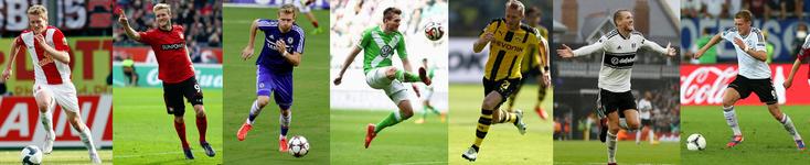 Mainz - Bayer Leverkusen - Chelsea - Wolfsburg - Borussia Dortmund - Fulham - Allemagne - Click to enlarge