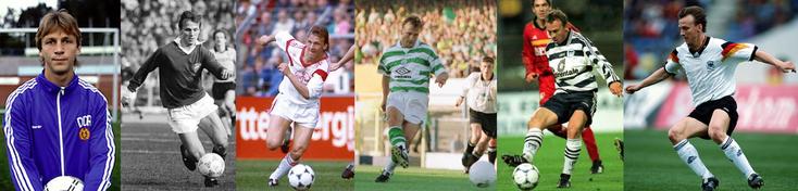 RDA - Dynamo Berlin - Bayer Leverkusen - Celtic Glasgow - Hertha Berlin - Allemagne - Click to enlarge