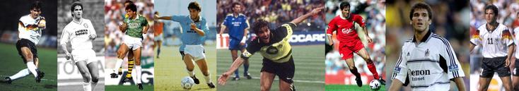 RFA - Blau-Weiß 90 Berlin - Werder Bremen - Lazio - Borussia Dortmund - Liverpool - Fulham - Allemagne - Click to enlarge