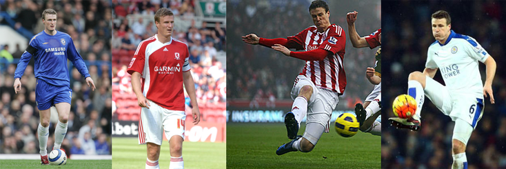 Chelsea - Middlesbrough - Stoke City - Leicester City - Click to enlarge