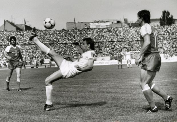 Finale de la Coupe de RDA 1983 (FCK - 1. FC Magdeburg 0-4).