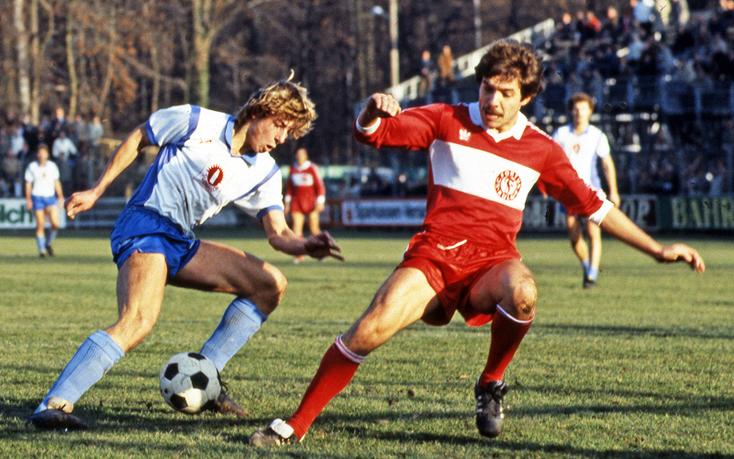 C'est avec les Stuttgarter Kickers que Klinsmann a débuté au plus haut niveau.