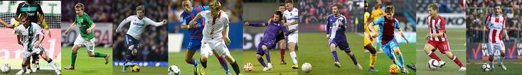 Borussia M'gladbach - Werder - Chelsea - Sevilla - Fiorentina - Anderlecht - Trabzonspor - Olympiakos - Crvena Zvezda - Click to Enlarge