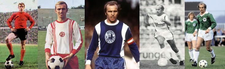 1. FC Nuremberg - Rot-Weiss Essen - Hertha Berlin - Munich 1860 - RFA - Click to enlarge