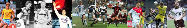 Bayer Uerdingen - Hamburger SV - Borussia M'gladbach - Casino Salzburg - Ascoli - Udinese - AC Milan - Monaco - Chievo - Allemagne - Click to enlarge