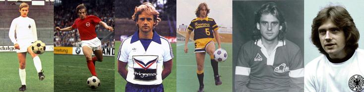 Borussia Mönchengladbach - Kickers Offenbach - Schalke 04 - Calgary Boomers - Memphis Americans - RFA - Click to enlarge