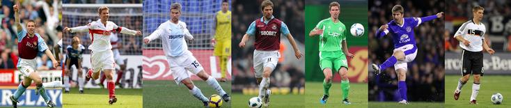 Aston Villa - VfB Stuttgart - Lazio - West Ham - Wolfsburg - Everton - Allemagne - Click to enlarge