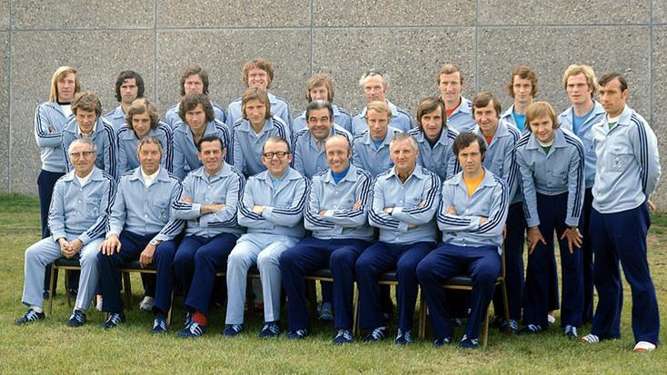 Sélection de la RFA 1972 : championne d'Europe
