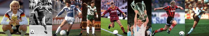 RFA - Stuttgarter Kickers - 1860 München - Werder Bremen - AS Roma - Olympique de Marseille - Bayer Leverkusen - Allemagne - Click to enlarge