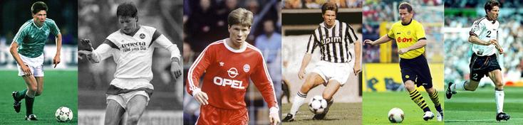 Champion du Monde 90 - Nürnberg - Bayern - Juventus - Borussia Dortmund - Champion d'Europe 96 - Click to enlarge
