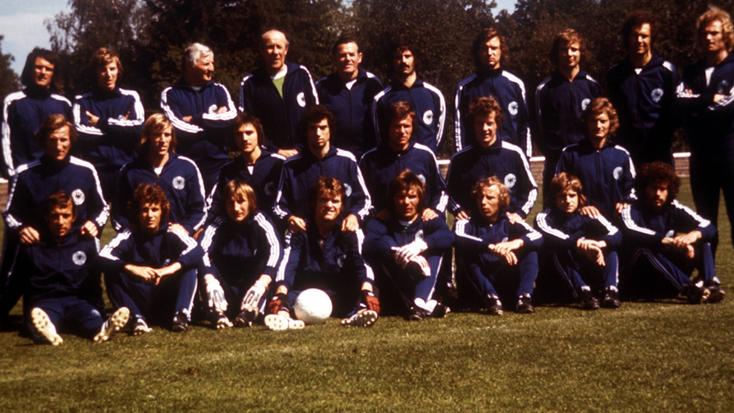 Sélection de RFA pour la Coupe du Monde FIFA 1974 : Championne du Monde