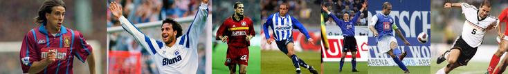 Aston Villa - Hansa Rostock - Bayer Leverkusen - Hertha Berlin - Hambourg SV - Hansa Rostock - Allemagne - Click to enlarge