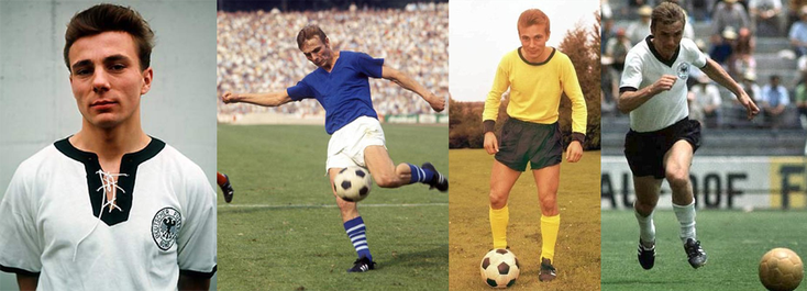 RFA - Schalke 04 - Borussia Dortmund - Coupe du Monde FIFA 1970 - Click to enlarge