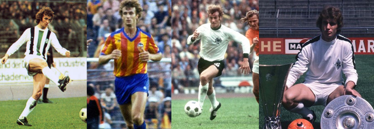 Borussia Mönchengladbach - Valencia - RFA - les trophées avec le Borussia - Click to enlarge