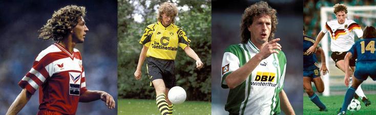 Kaiserslautern - Borussia Dortmund - Werder Brême - Allemagne (ici RFA olympique en 1988) - Click to enlarge