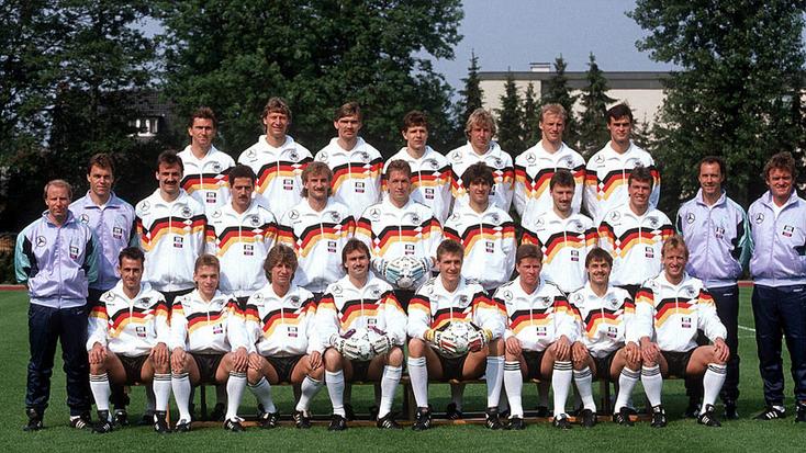 Sélection de RFA pour la Coupe du Monde FIFA 1990 : Championne du Monde