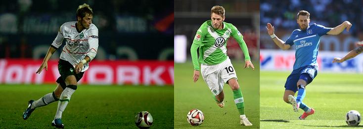 Werder - Wolfsburg - HSV - Click to enlarge