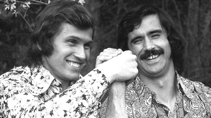 Dans les années 70, Jupp eu l'immense honneur d'être le concurrent numéro 1 de Gerd Müller (à droite). Et la sélection pouvait compter sur 2 immenses avant-centres !