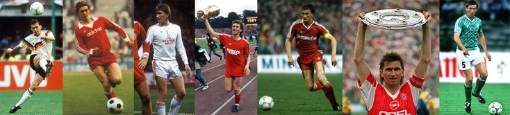 Sous le maillot de la RFA et du Bayern durant toute une époque - Click to enlarge