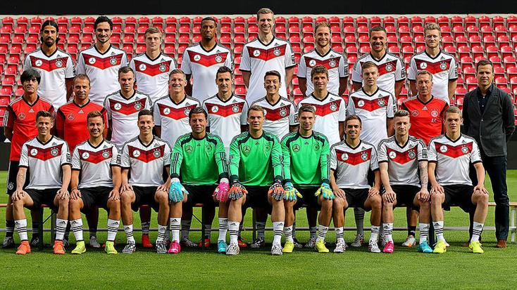 Sélection allemande pour la Coupe du Monde FIFA 2014 : Championne du Monde