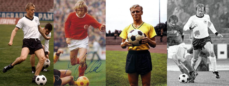 RFA 60's - Kickers Offenbach - Borussia Dortmund - RFA 70's - Click to enlarge