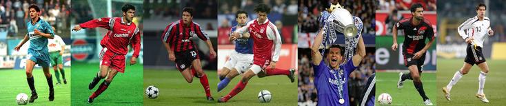 Chemnitzer - Kaiserslautern - Bayer Leverkusen - Bayern München - Chelsea - Bayer Leverkusen - Allemagne - Click to enlarge