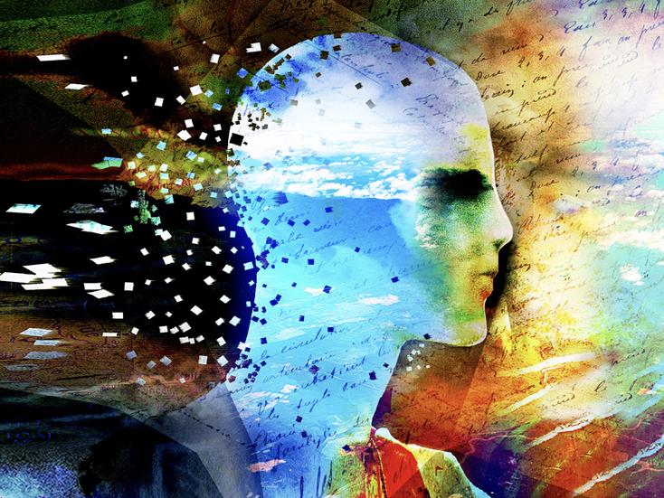 """""""les nuages"""",  art digital sur alu dibond, 60x80cm"""