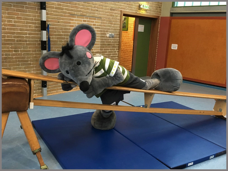 Piet- gut ernährt und sportlich! Ein Vorbild für alle! ;-)