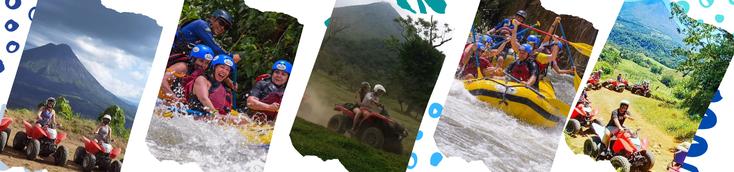 Combo tour: Rafting y ATV
