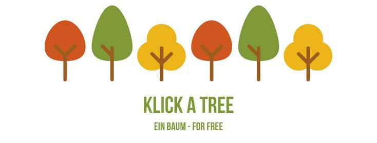 © Klick a tree - Übersicht - FAQ
