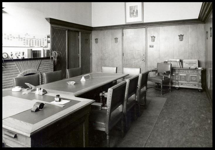 Directiekamer voormalige gevangenis Leeuwarden