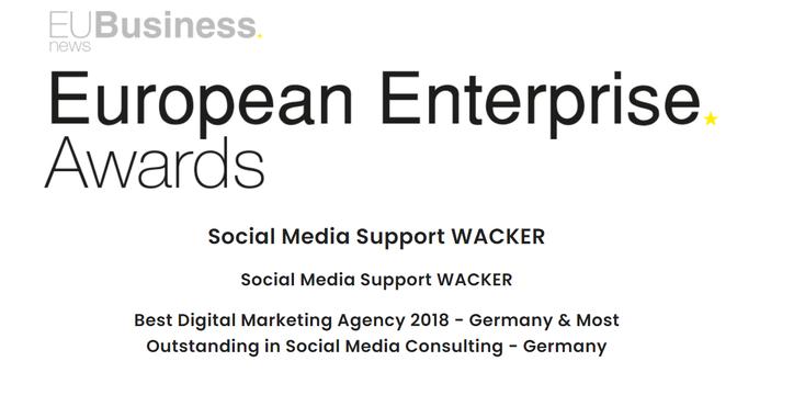 EU Business AWARD 2018