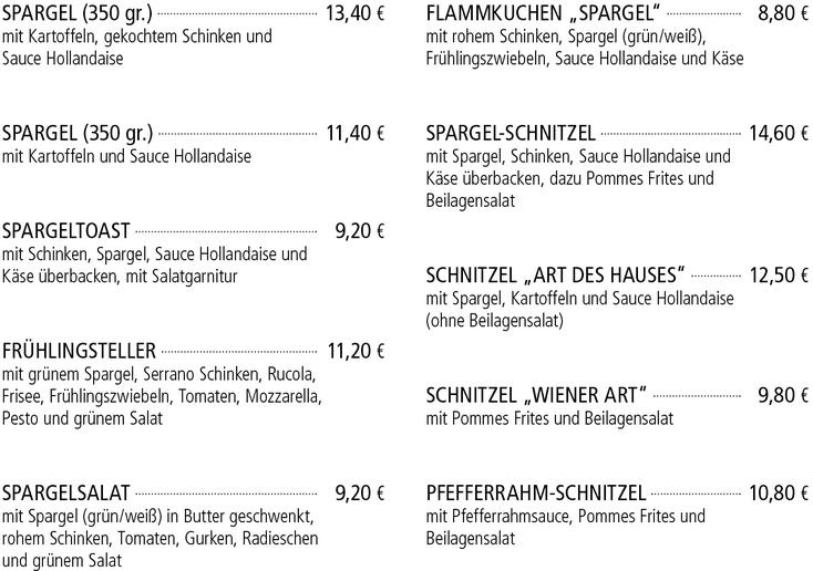 Spargelwochen - Kelterschänke Elsenfeld