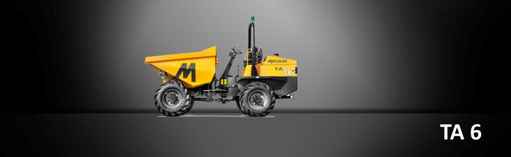 Bild: Baustellenkipper 6.000kg Nutzlast Mecalac