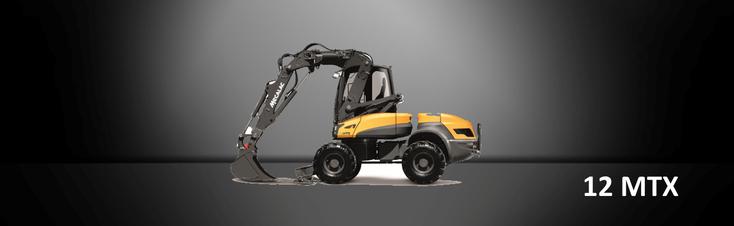 Bild: Mecalac Bagger 12 MTX vom Händler Ertl + Tegtmeyer GmbH in Bayern
