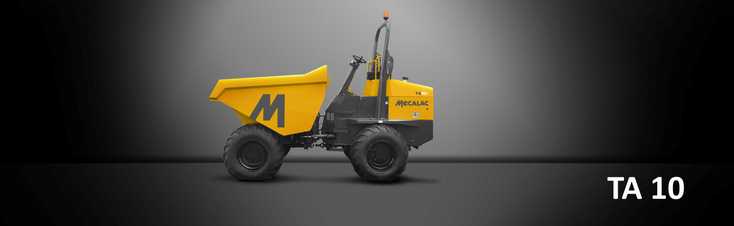 Bild: Muldenkipper, Baustellenkipper Mecalac