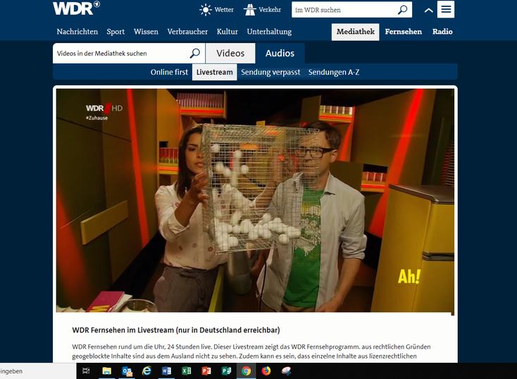 Fernsehen im WDR für Grundschüler: Jeden Morgen ab 9 Uhr