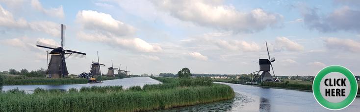In Holland gibt es nicht nur Blumen, Windmühlen und Holzschuhe