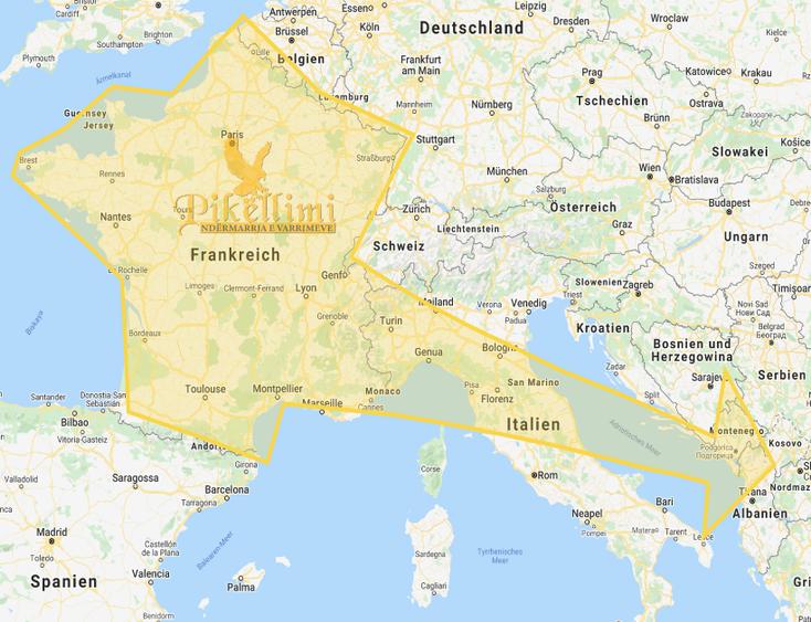 Leichentransport aus Frankreich - Kosovo, Mazedonien, Albanien, Monte Negro, Presevo Tal, Sanxhak