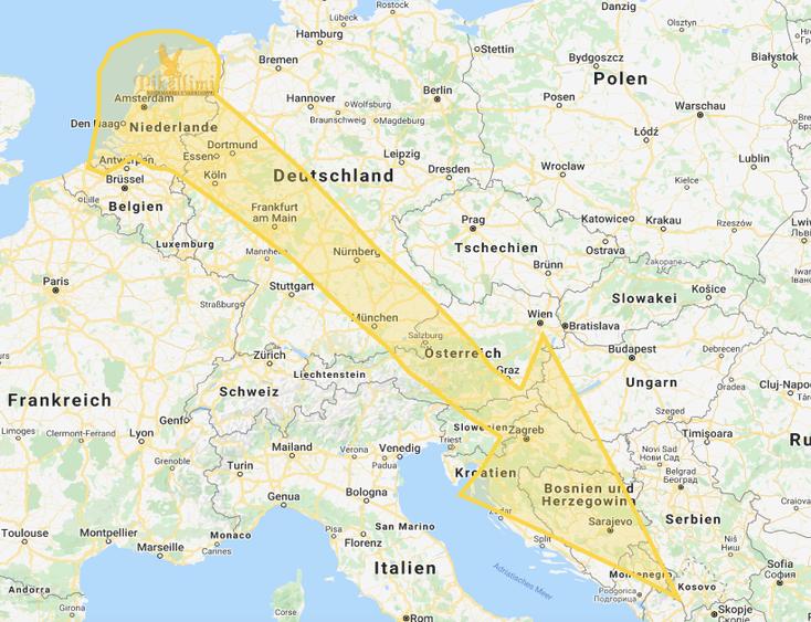 Leichentransport aus Niederlande nach Kosovo, Mazedonien, Albanien, Monte Negro, Presevo Tal, Sanxhak
