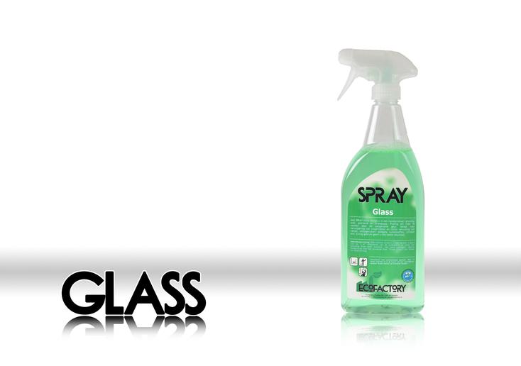 EcoFactory SPRAY GLASS kant-en-klare glas sprayreiniger