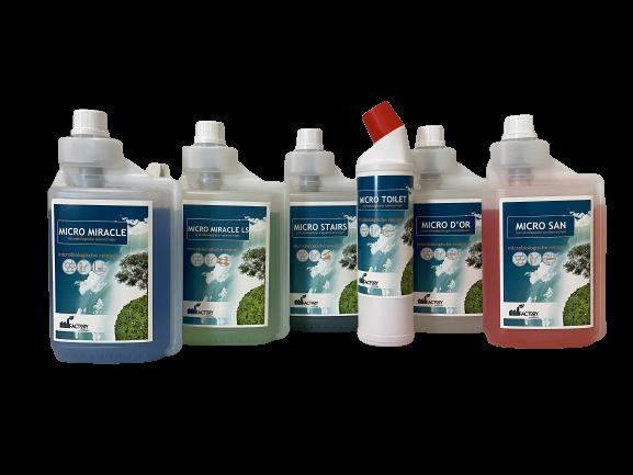 EcoFactory SPRAY kant-en-klare schoonmaak producten