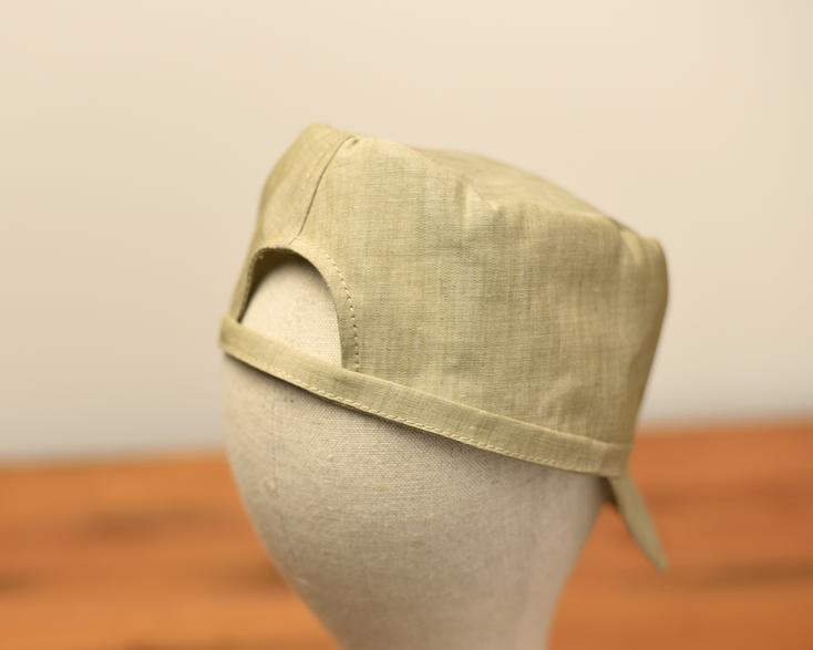 富山 帽子 シャツキャップ
