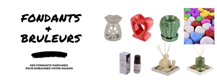 Fondants parfumés et brûleurs à huile