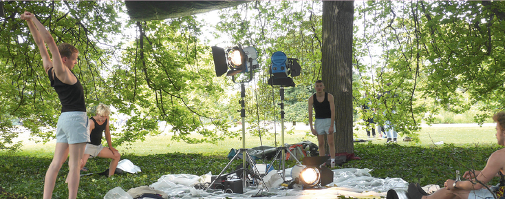 "Anne Pflug ""Favourites"" Performance Höhenpark Killesberg Stuttgart June 2015"