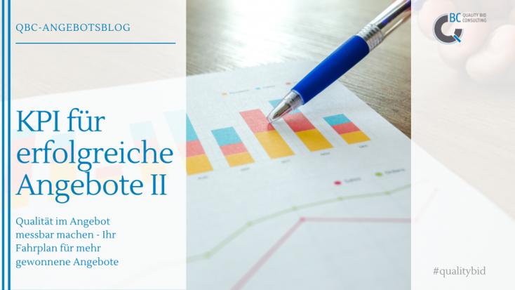 KPI für erfolgreiche Angebote II