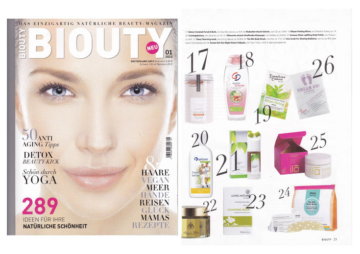 BIOUTY FEBRUAR 2015  I  DETOX Cristalsalt Scrub & Bath NARANJA MALLORQUIN COLLECTION