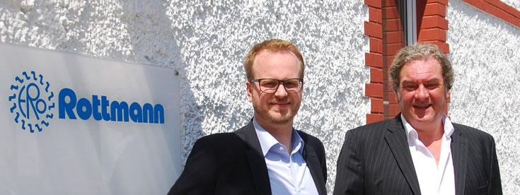 Ihre Ansprechpartner: Johannes Rottmann und Karsten Rottmann